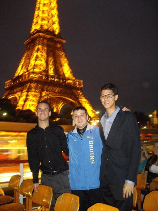 Eiffel Tower with Richard and Harris