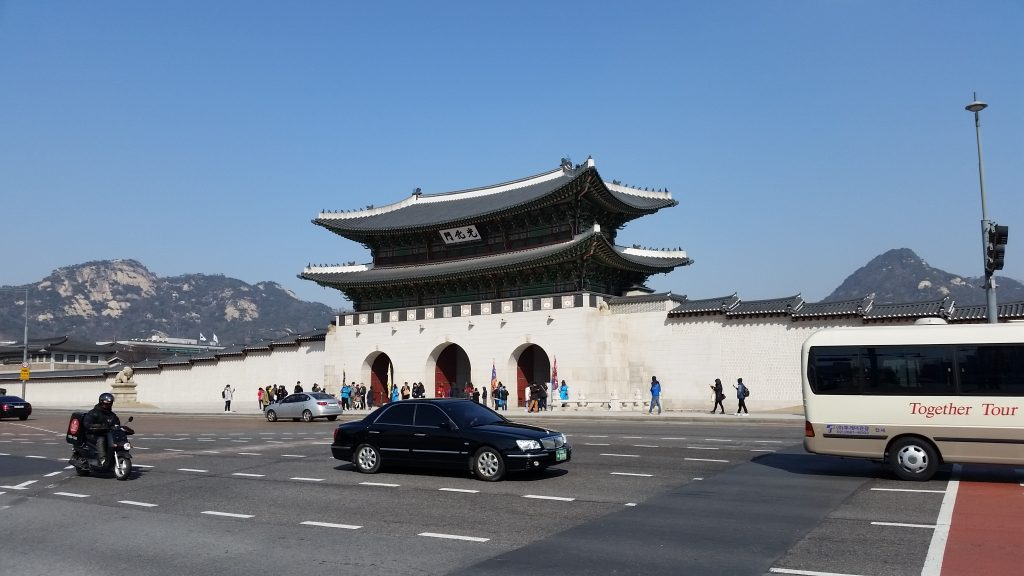 Gyeongbokgung Palace outer gate